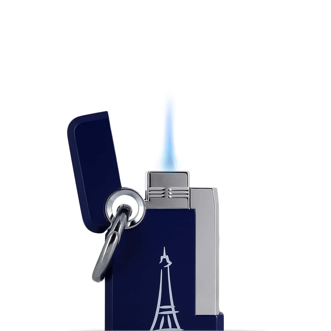 Photo #1 de Briquet S.T. Dupont Hooked Paris Bleu