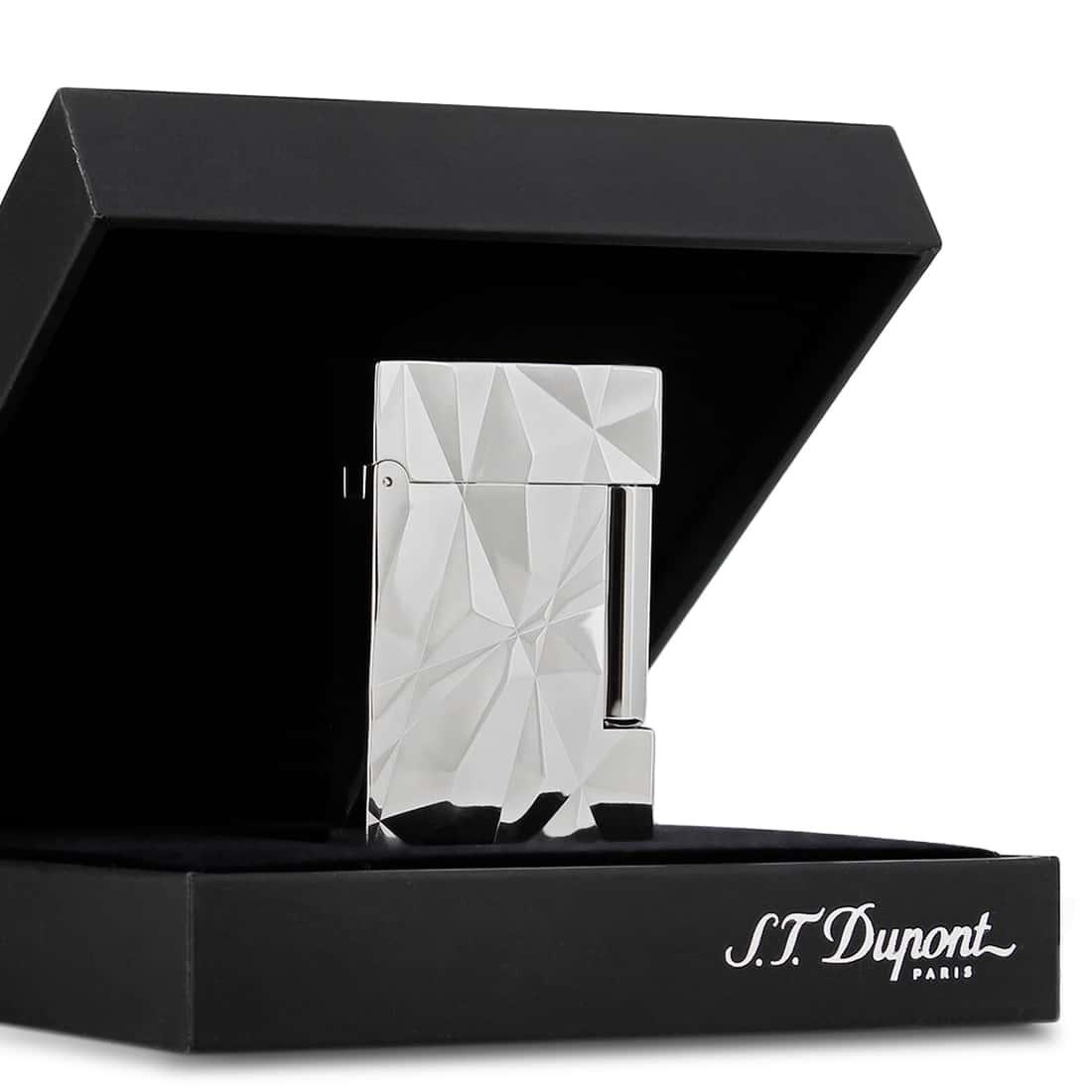 Photo #6 de Briquet S.T. Dupont Ligne 2 Crazy Diamonds Palladium