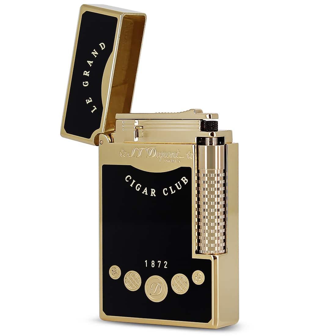 Photo #1 de Briquet S.T. Dupont Ligne 2 Le Grand Cigar Club Noir