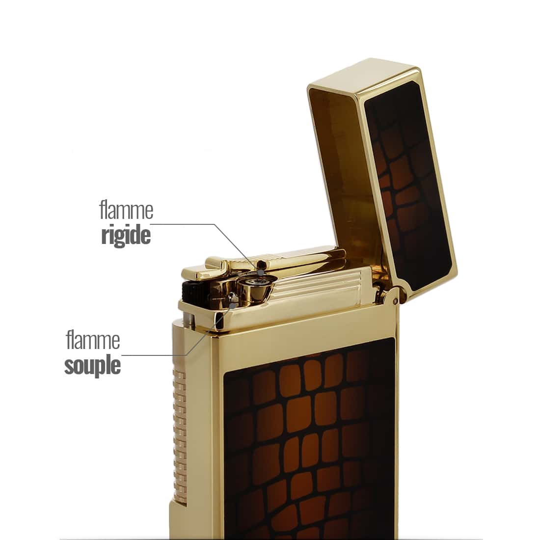 Photo #2 de Briquet S.T. Dupont Ligne 2 Le Grand Dandy