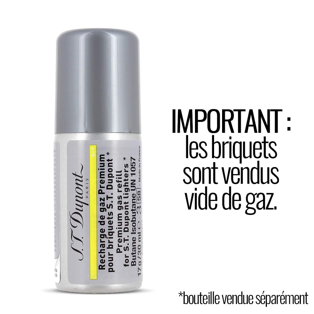 Photo #5 de Briquet S.T. Dupont Ligne 2 pointe de diamant finition or