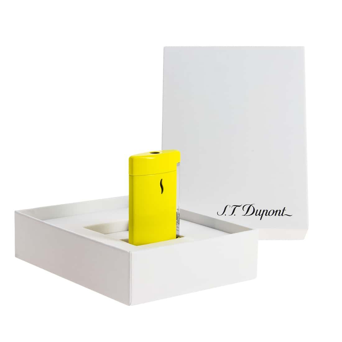 Photo #2 de Briquet S.T. Dupont miniJet Jaune