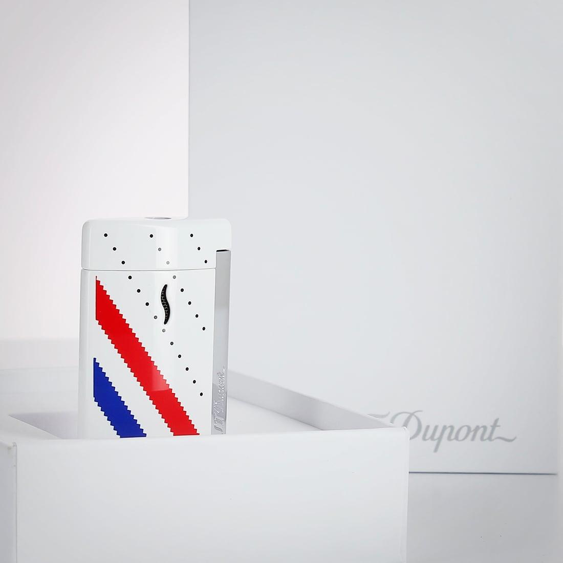 Photo #2 de Briquet S.T. Dupont miniJet Sneakers Blanc