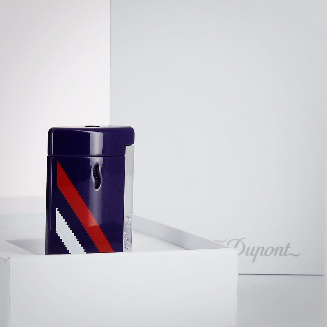 Photo #2 de Briquet S.T. Dupont miniJet Sneakers Bleu
