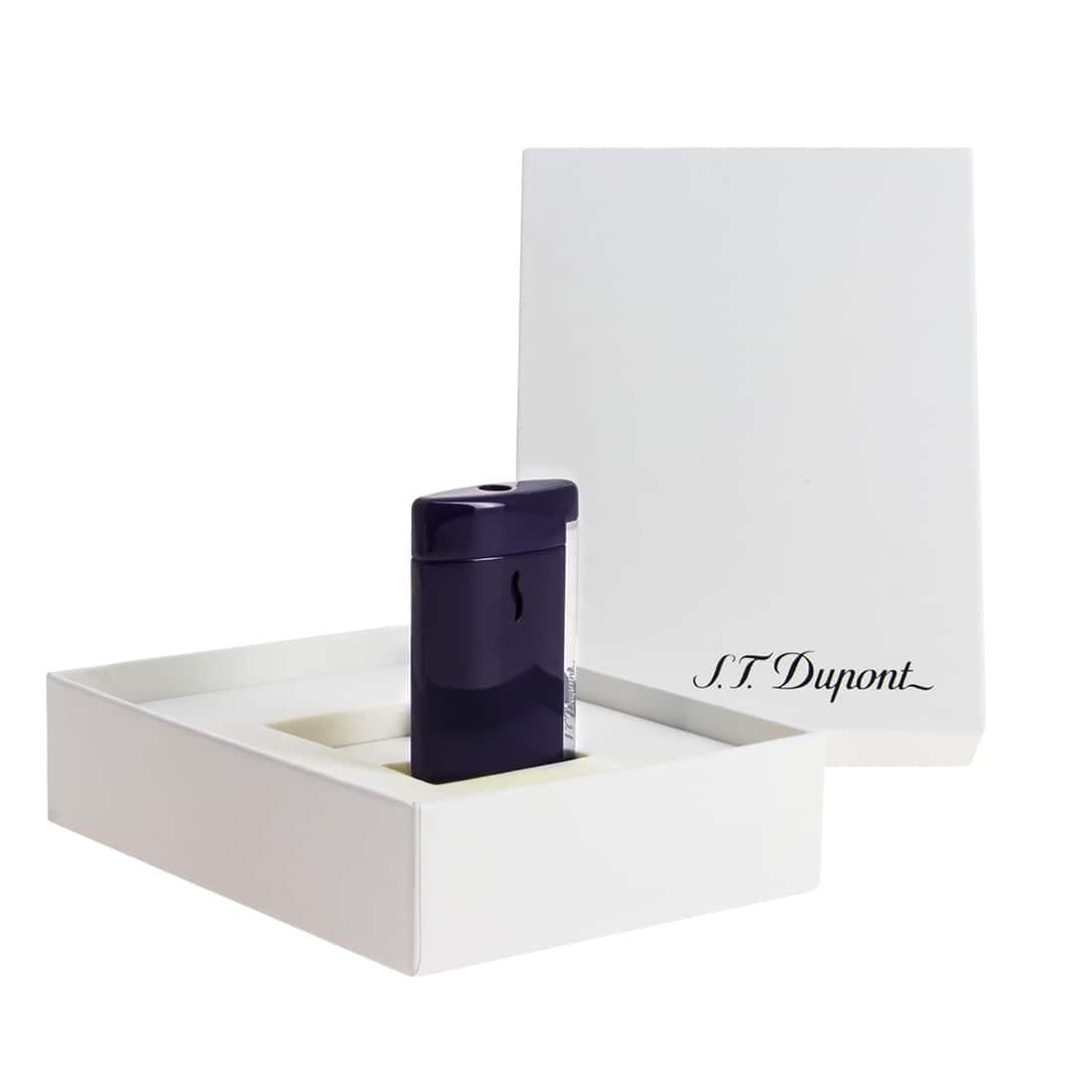 Photo #2 de Briquet S.T. Dupont miniJet Violet