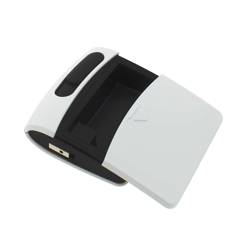 Photo #1 de Briquet Sans Flamme USB Blanc Cendrier