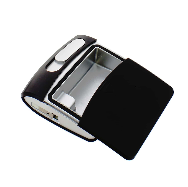 Photo #1 de Briquet Sans Flamme USB Noir Cendrier