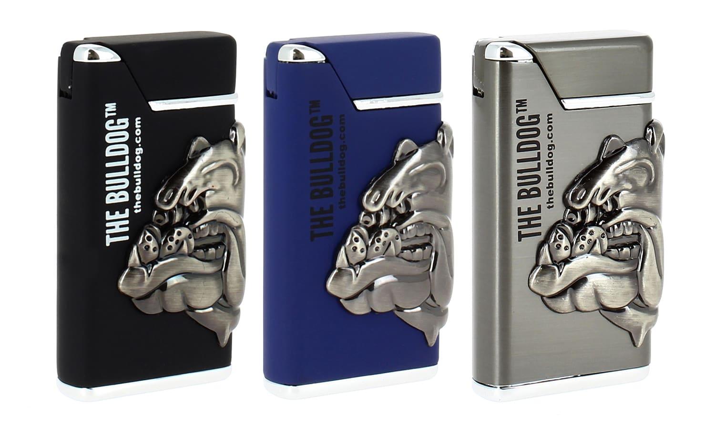 Photo #4 de Briquet The Bulldog bleu