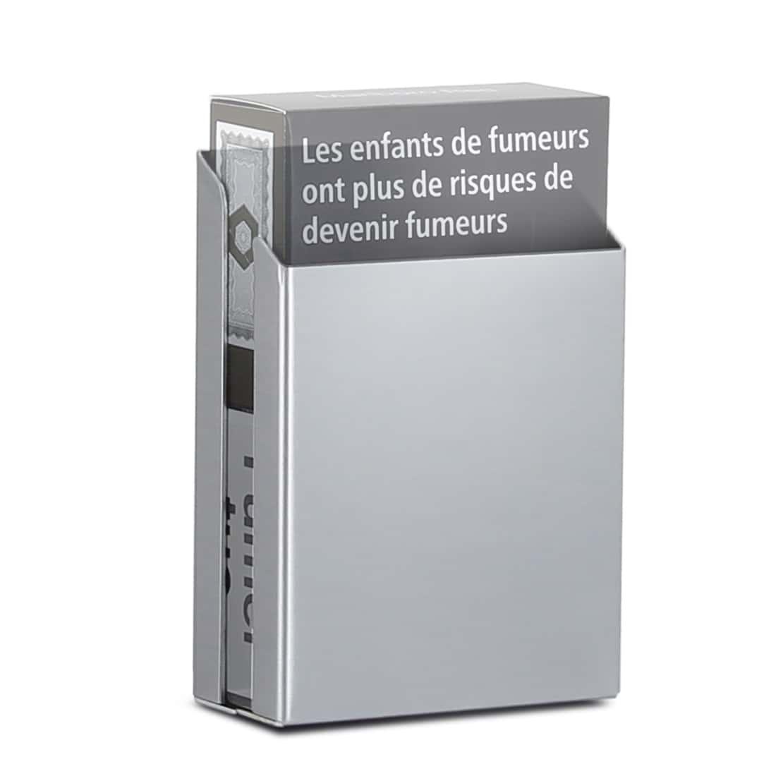 Photo #1 de Cache Paquet Cigarettes Alu