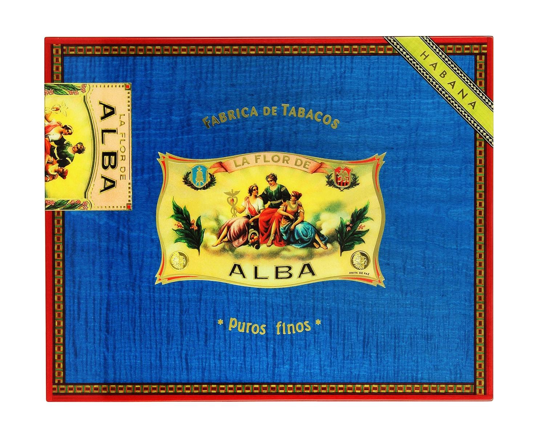 Photo #1 de Cave a cigare Elie Bleu Flor de ALba Bleue
