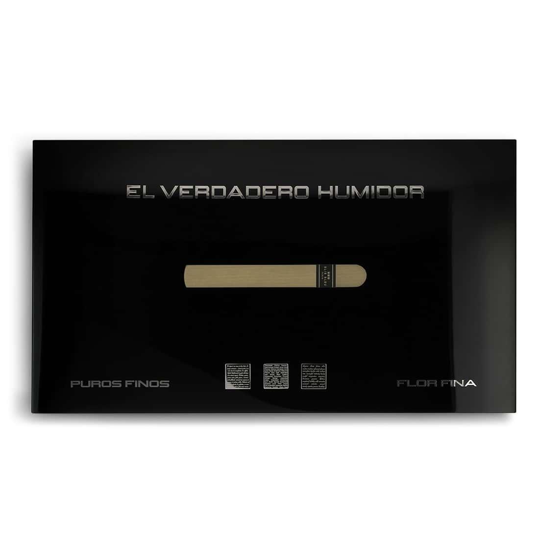 Photo #1 de Cave a cigare Elie Bleu Nouvelle Médaille Noire 110 cigares
