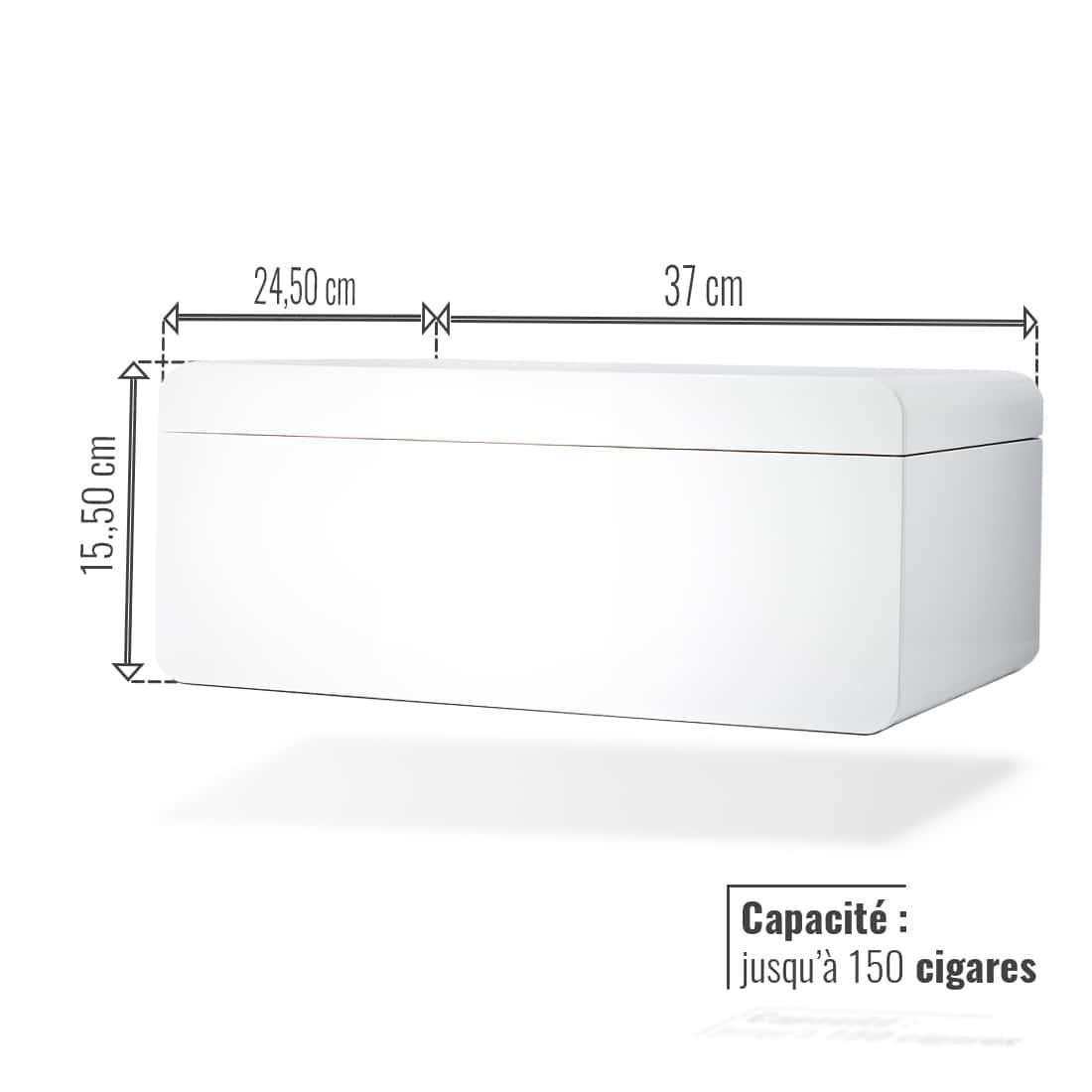 Photo #2 de Cave à cigares - Adorini Carrara Deluxe Edition Speciale