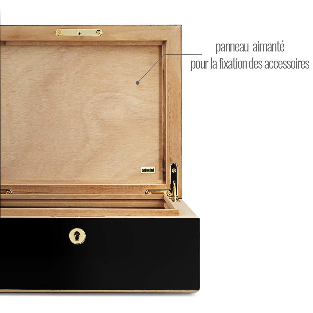 Photo #3 de Cave à cigares - Adorini Milan Deluxe