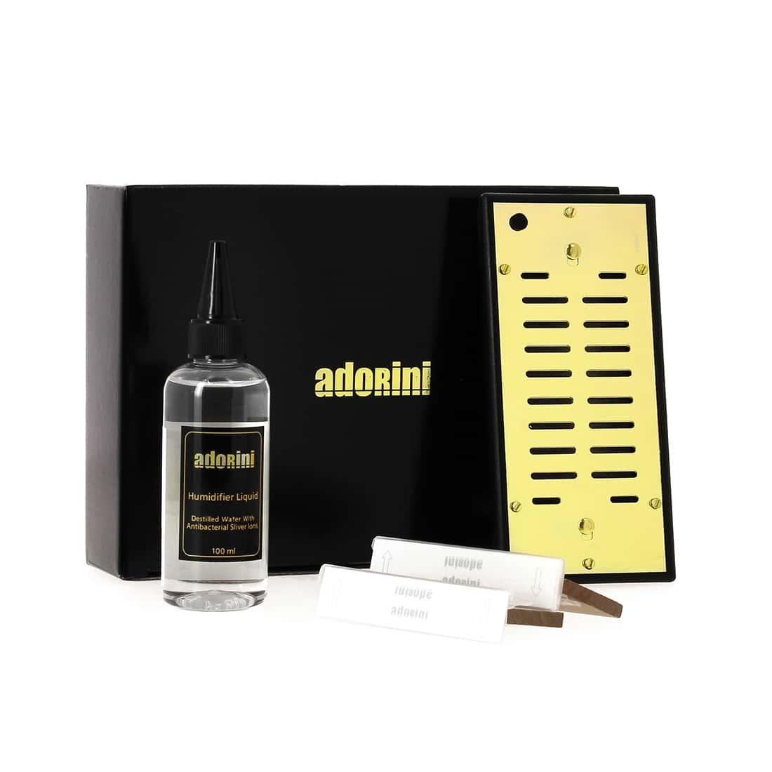 Photo #3 de Cave à cigares Adorini Cube Deluxe noire