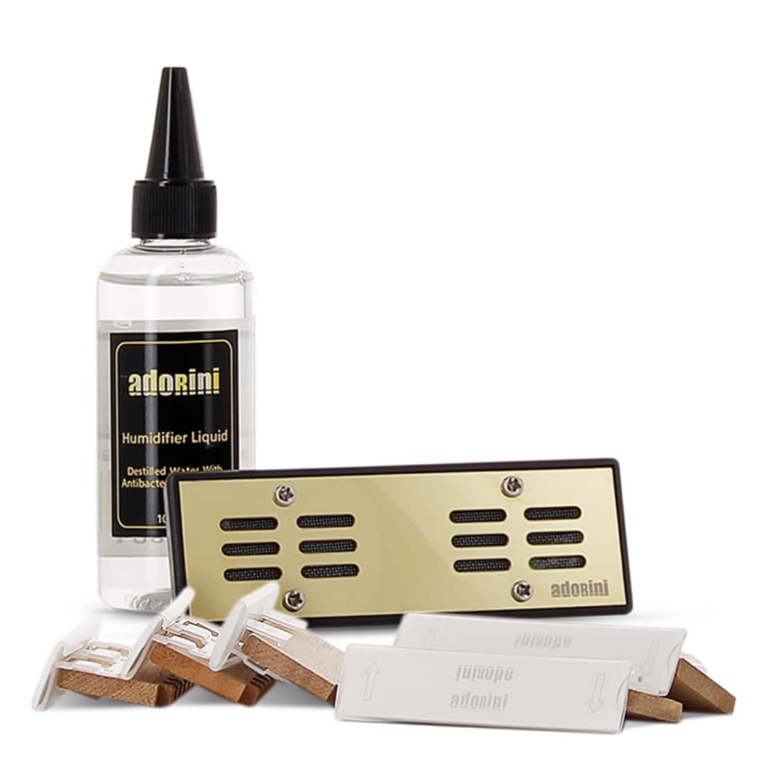 Photo #3 de Cave à cigares Adorini Pyramide Deluxe M Noire