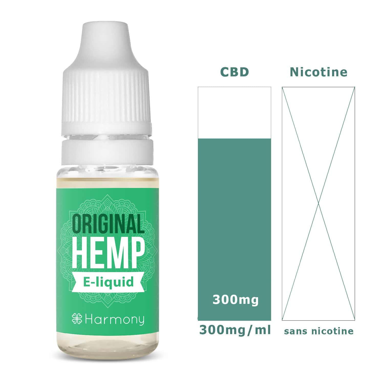 Photo #1 de CBD E liquide original hemp 300mg