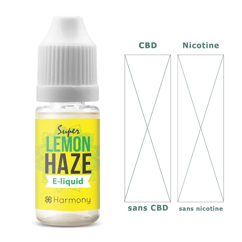 Photo #1 de CBD E liquide super lemon haze 0mg