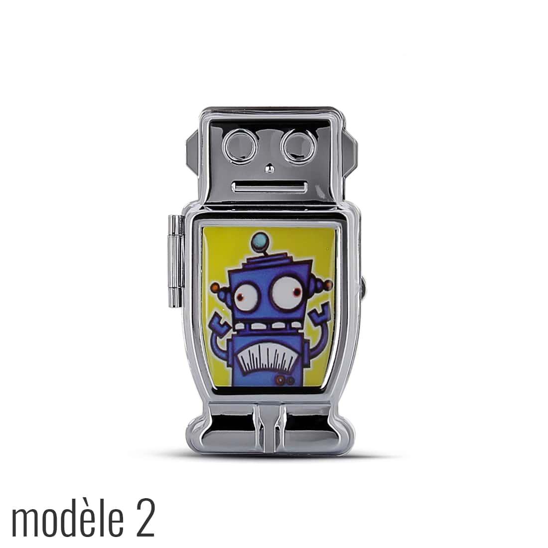 Photo #4 de Cendrier de poche Robot