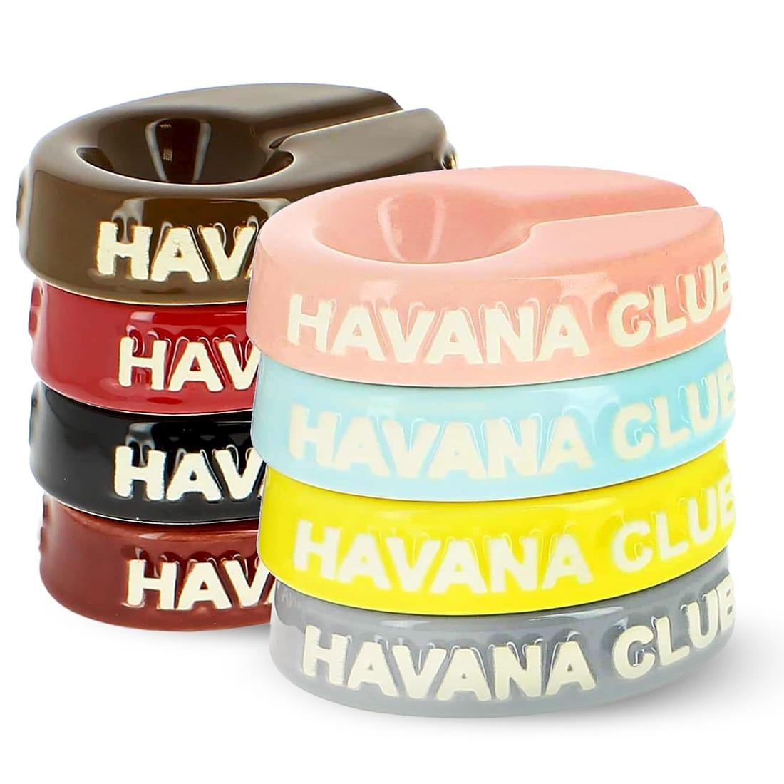 Photo #2 de Cendrier Havana Club Chico Jaune