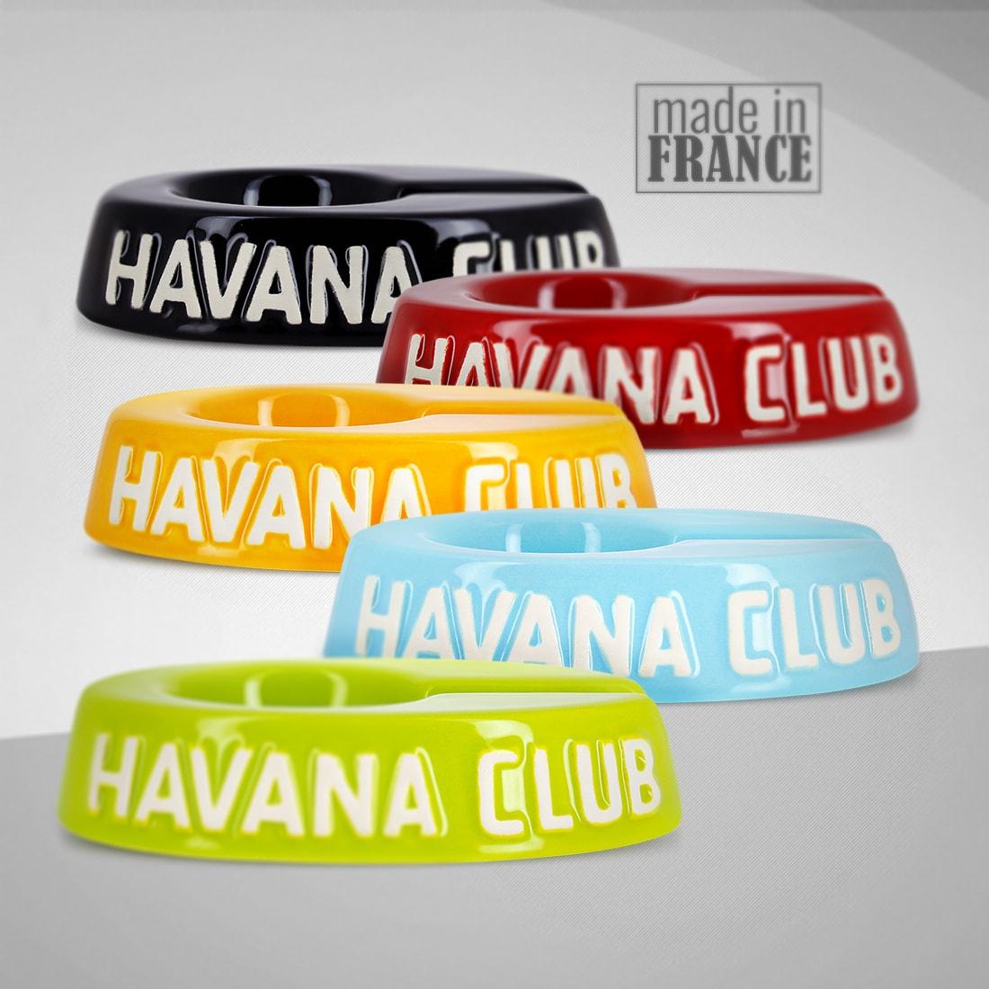 Photo #2 de Cendrier Havana Club jaune