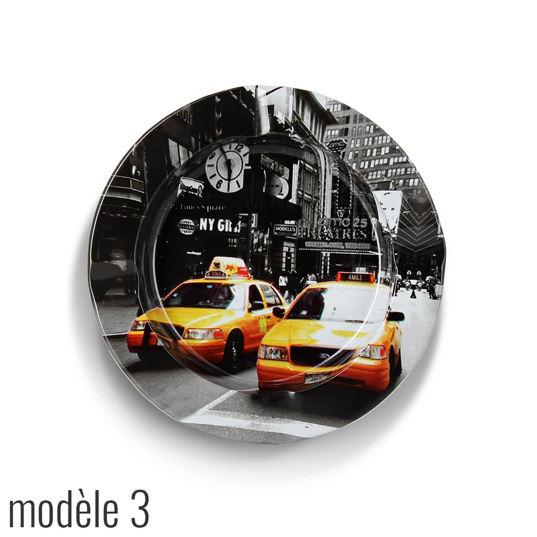 Photo #3 de Cendrier Métal Taxi New York City