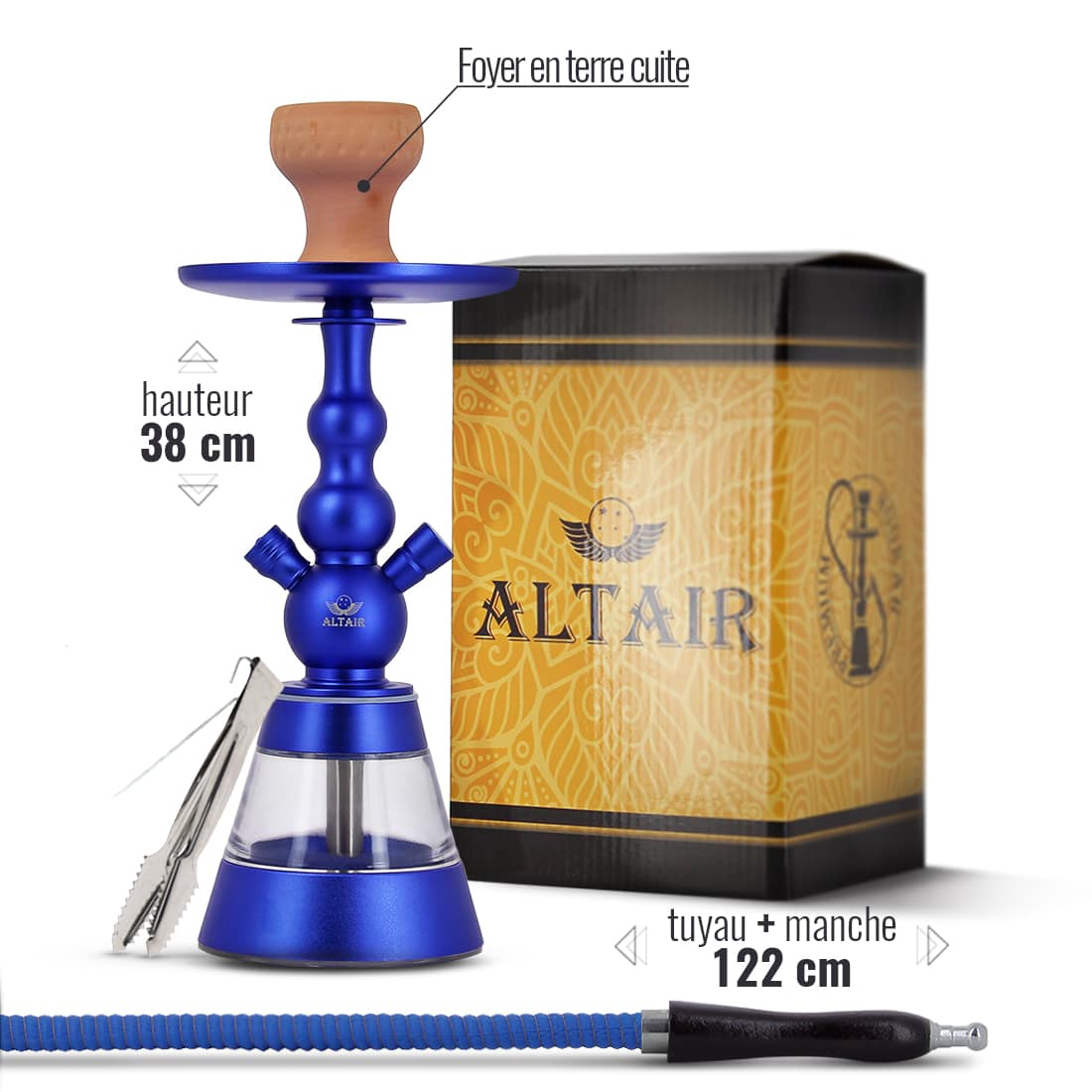 Photo #1 de Chicha Altair Khephren Bleu