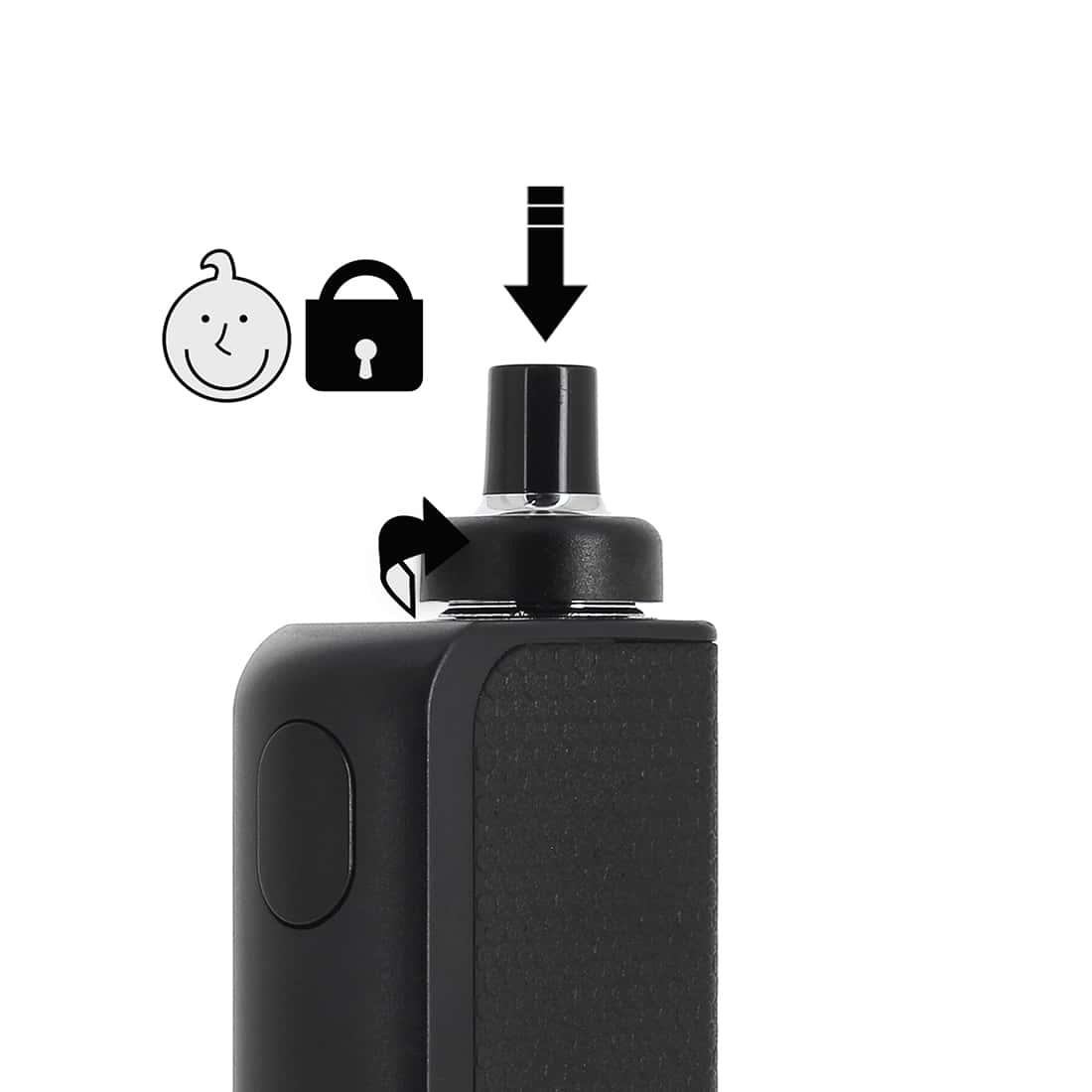 Photo #3 de Cigarette electronique Joyetech eGo AIO box noire