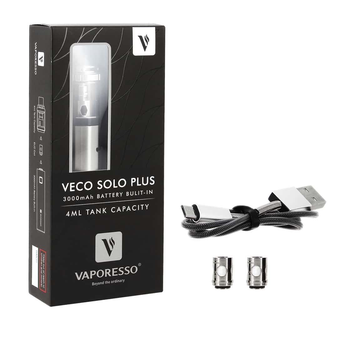 Photo #3 de Cigarette electronique Vaporesso Veco Solo Plus chromée