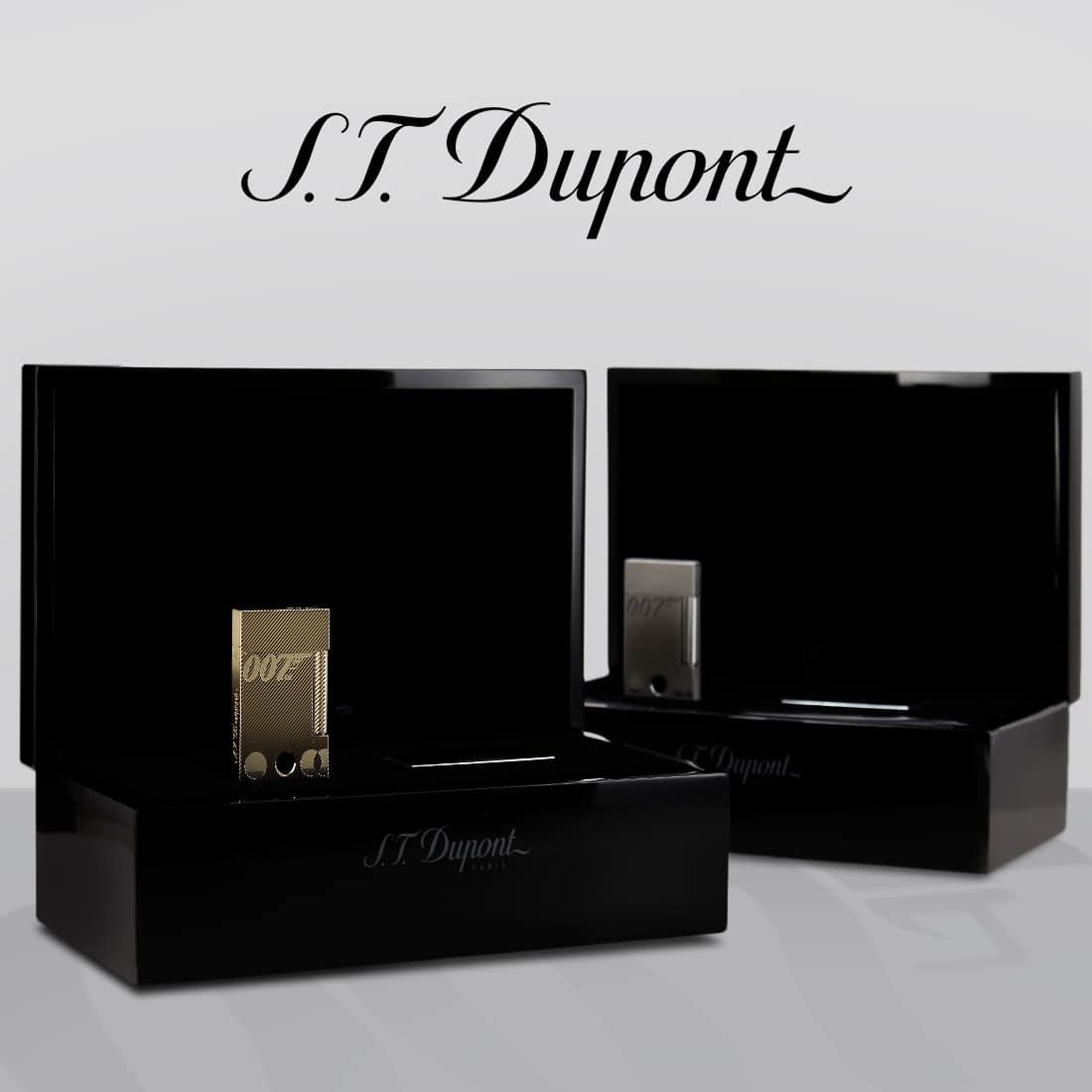 Photo #7 de Coffret Collector Briquet S.T. Dupont Ligne 2 James Bond 007 Or Jaune