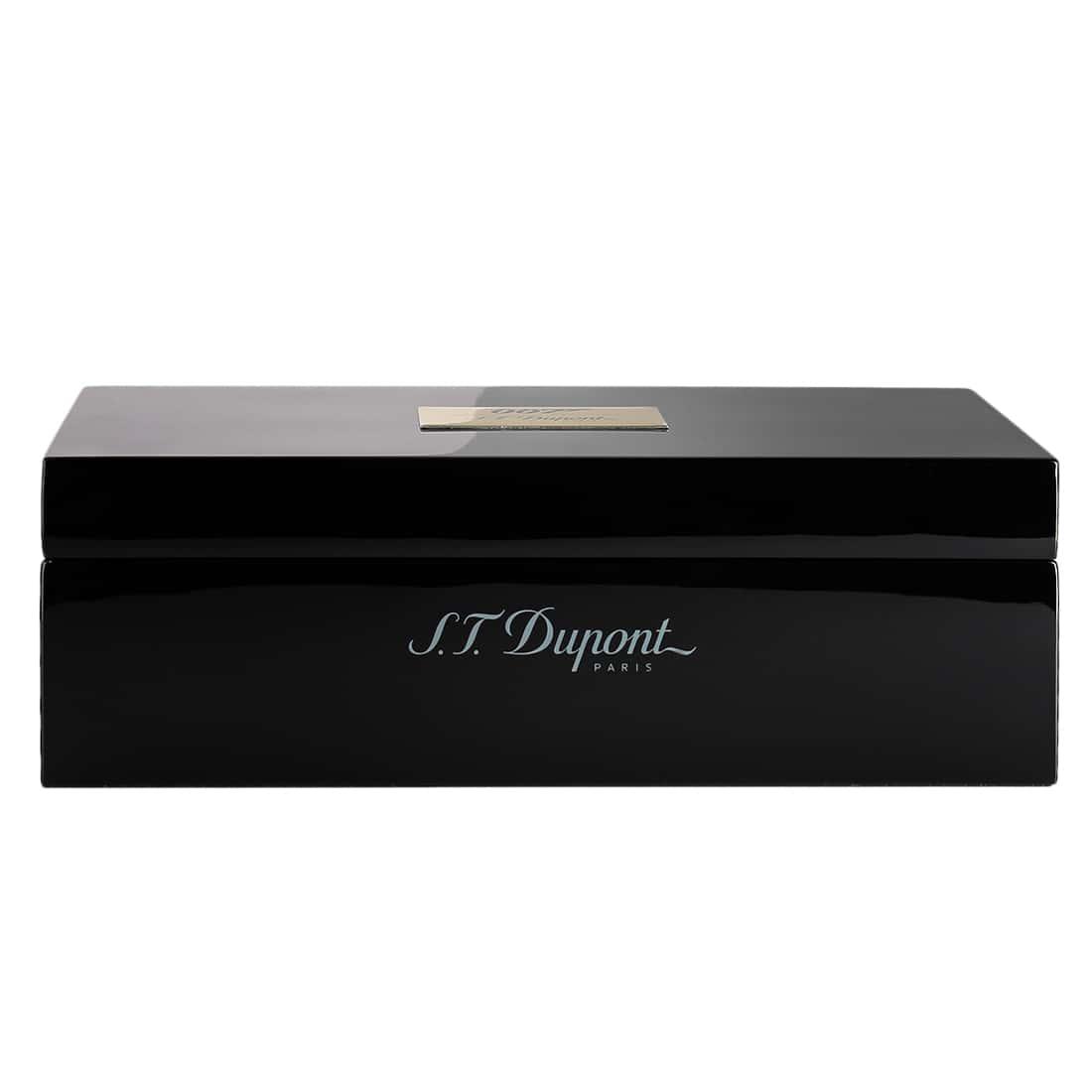 Photo #5 de Coffret Collector Briquet S.T. Dupont Ligne 2 James Bond Noir/Or