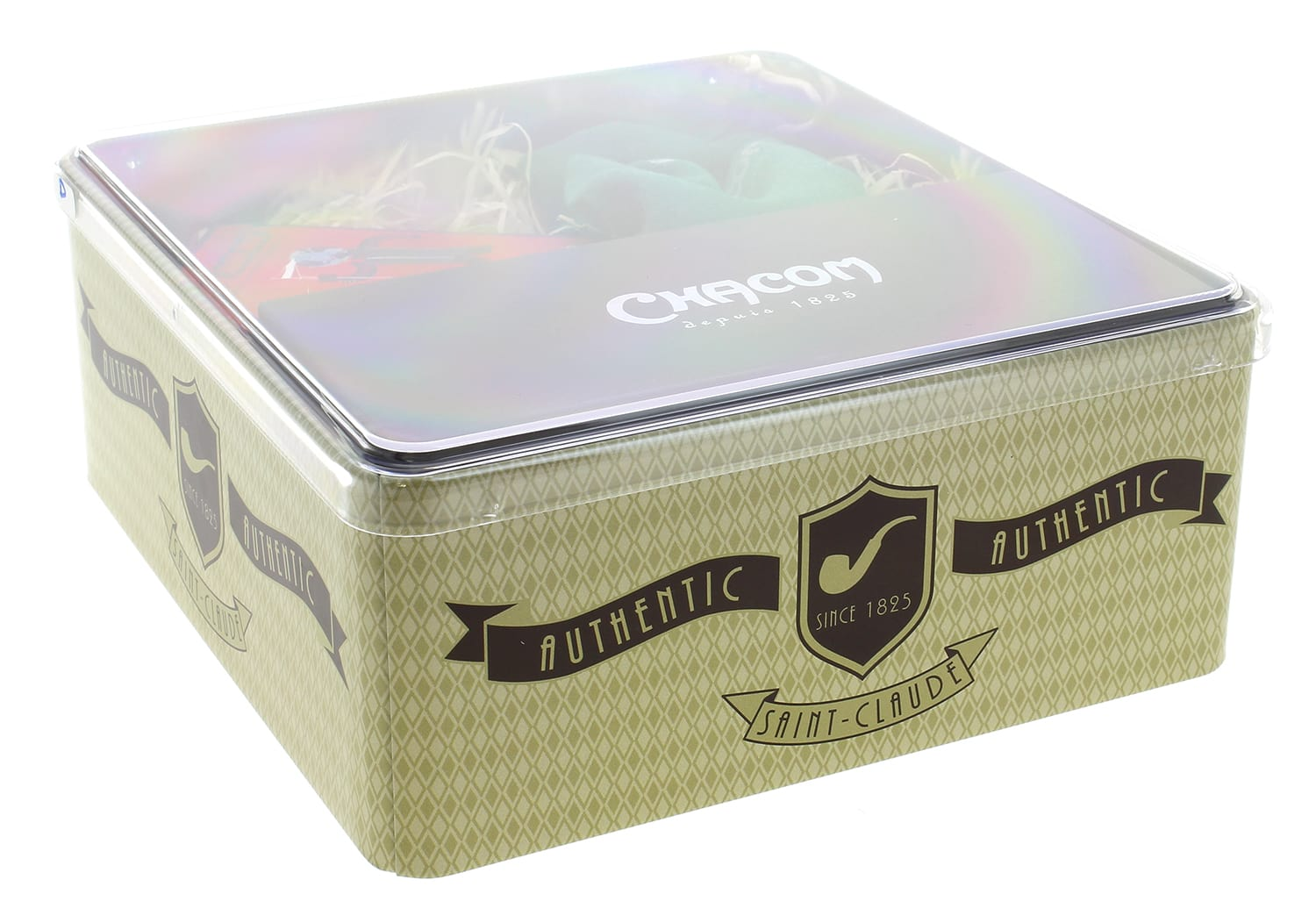 Photo #5 de Coffret Pipe Chacom Premium Droite Briquet et Blague