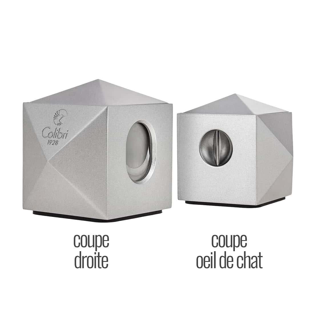 Photo #2 de Coupe Cigare Colibri VS-Cut Quasar Argent