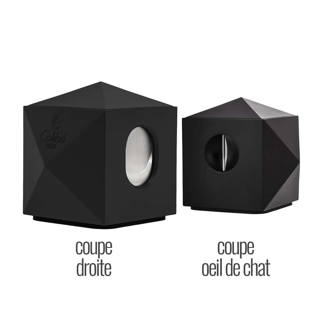 Photo #2 de Coupe Cigare Colibri VS-Cut Quasar Noir Mat