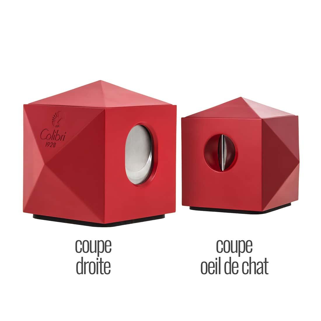 Photo #2 de Coupe Cigare Colibri VS-Cut Quasar Rouge