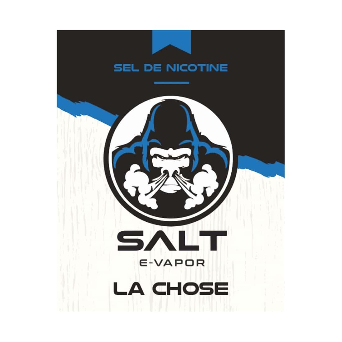 Photo #1 de E liquide Le French Liquide Salt La Chose