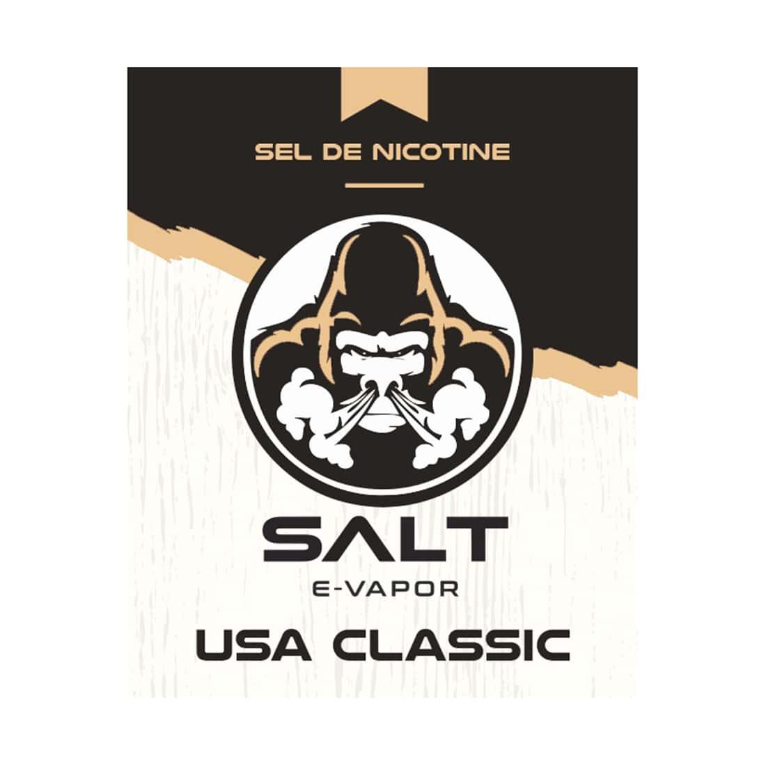 Photo #1 de E liquide Le French Liquide Salt USA Classic