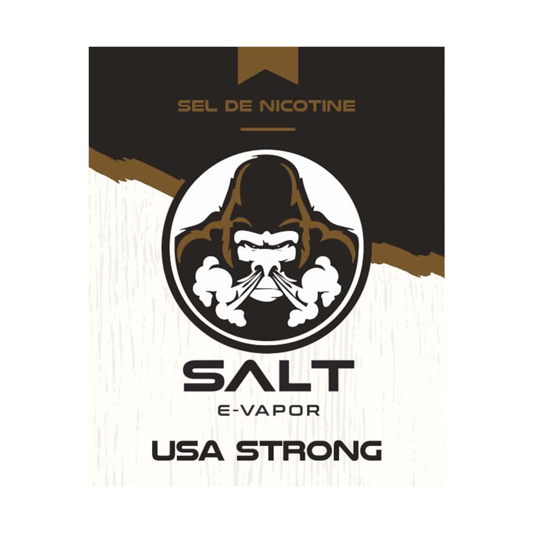 Photo #1 de E liquide Le French Liquide Salt USA Strong