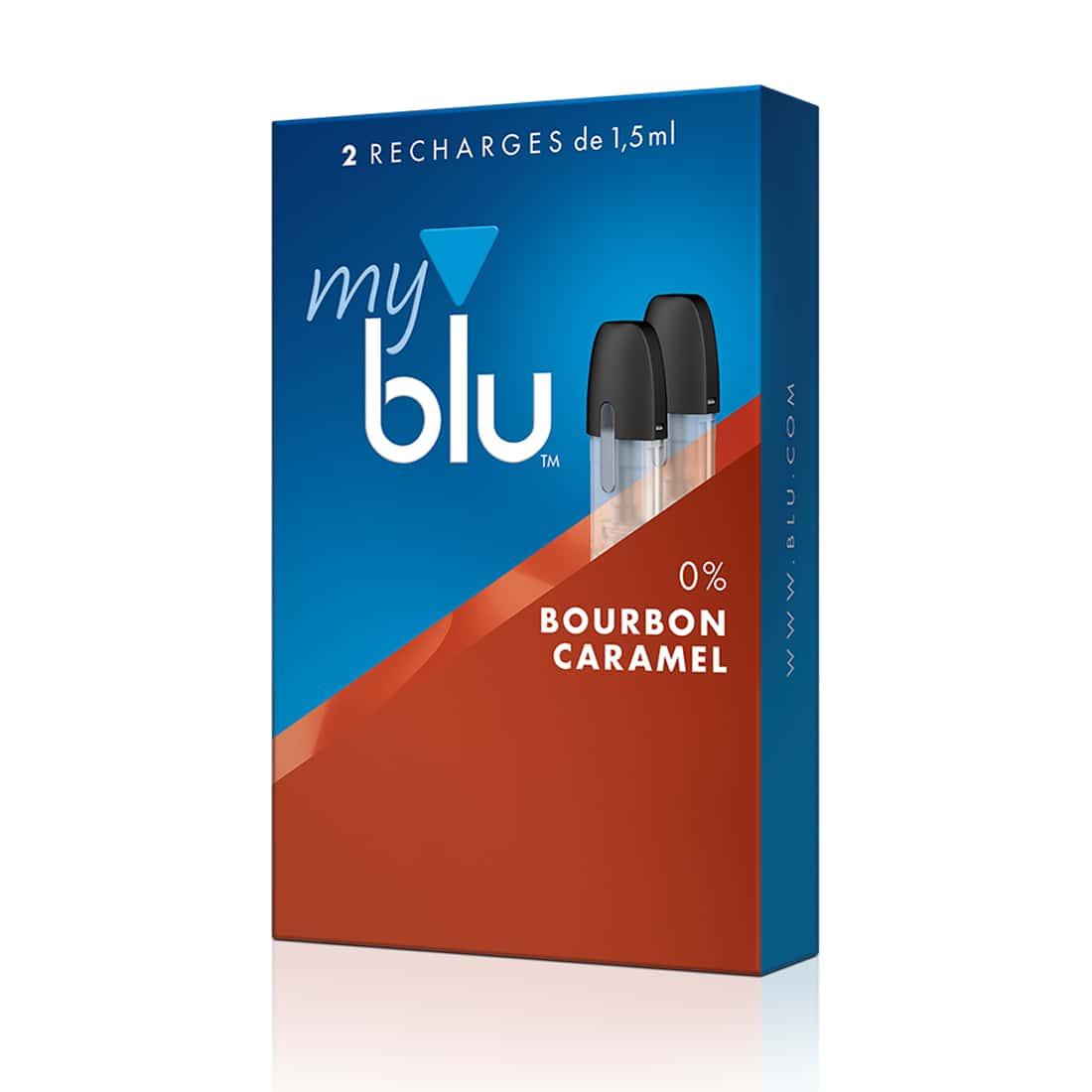 Photo #1 de E liquide myblu Capsule Bourbon Caramel x 2