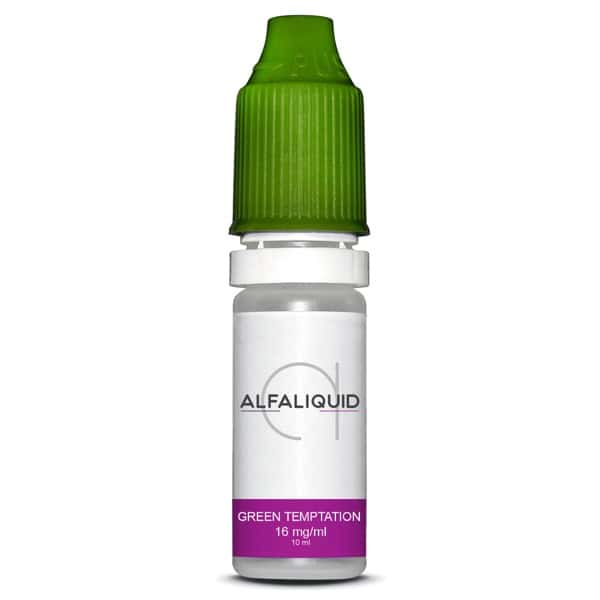 Photo #4 de Eliquide Alfaliquid Green Temptation