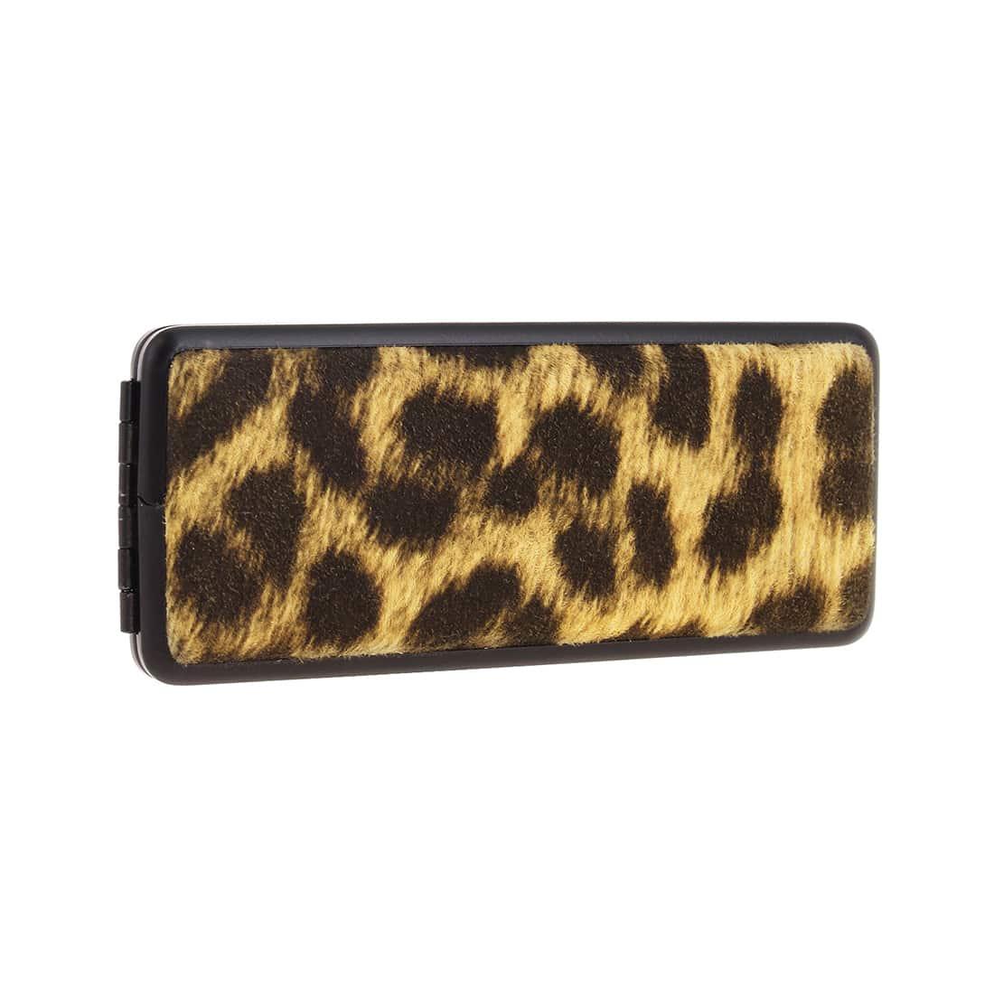 Photo #2 de Etui Cigarette noir leopard 100's