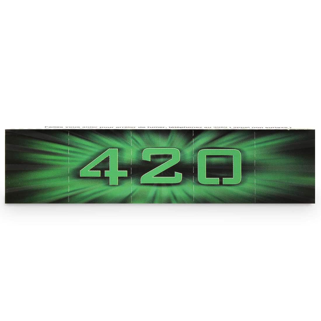 Photo #2 de Feuille a rouler 420 Slim x 50 PACK de 3