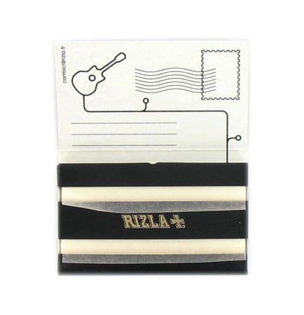 Photo #2 de Papier à rouler Rizla Black Edition Limitée x 25