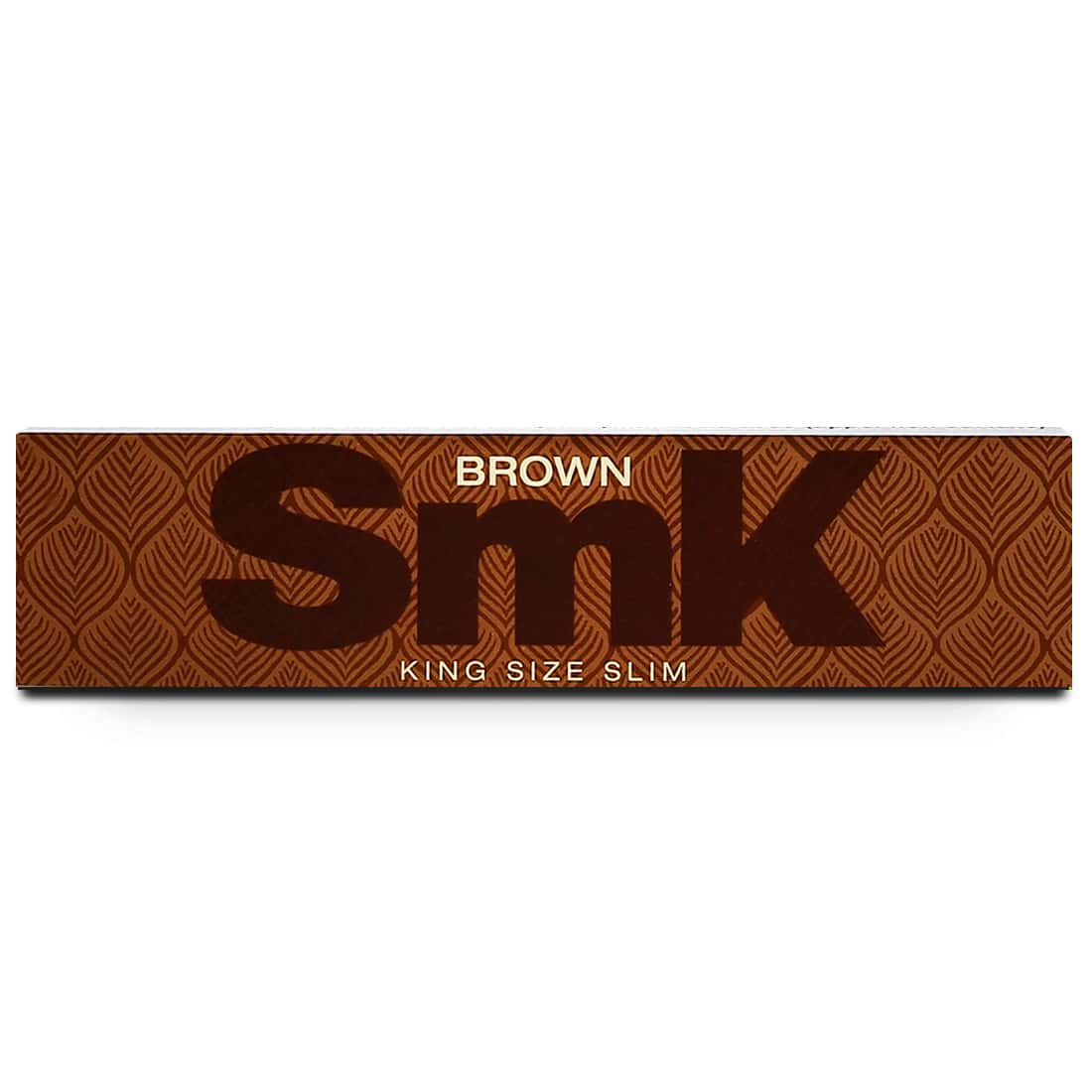Photo #2 de Feuille a rouler SMK Brown Slim x 50 PACK de 3