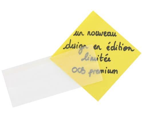 Photo #1 de Papier à rouler OCB Slim Premium Blanc x 1