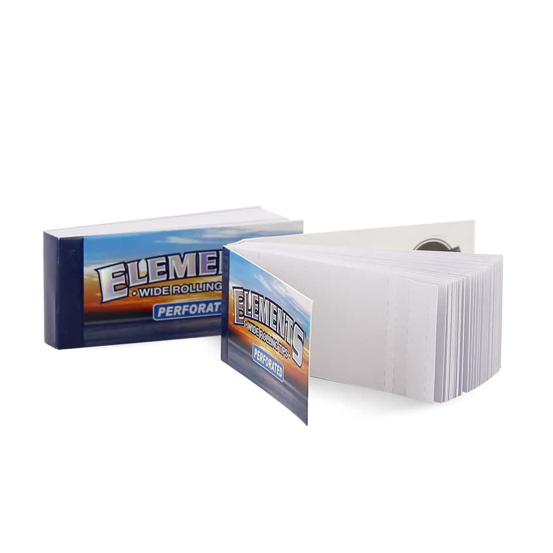 Photo #1 de Filtre carton Elements Large Perforé x 50