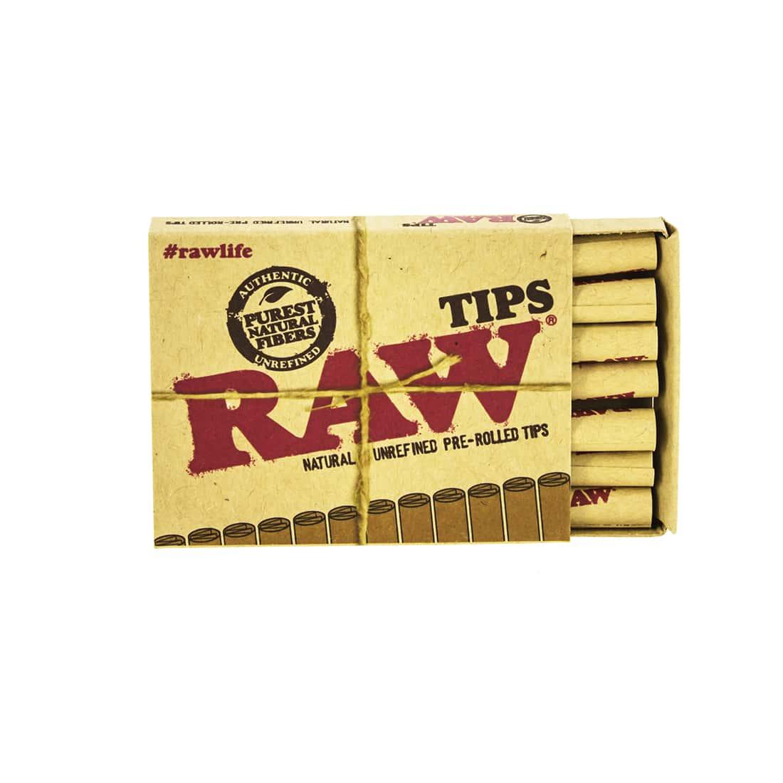 Photo #2 de Filtre carton Raw pré-roulé x 20