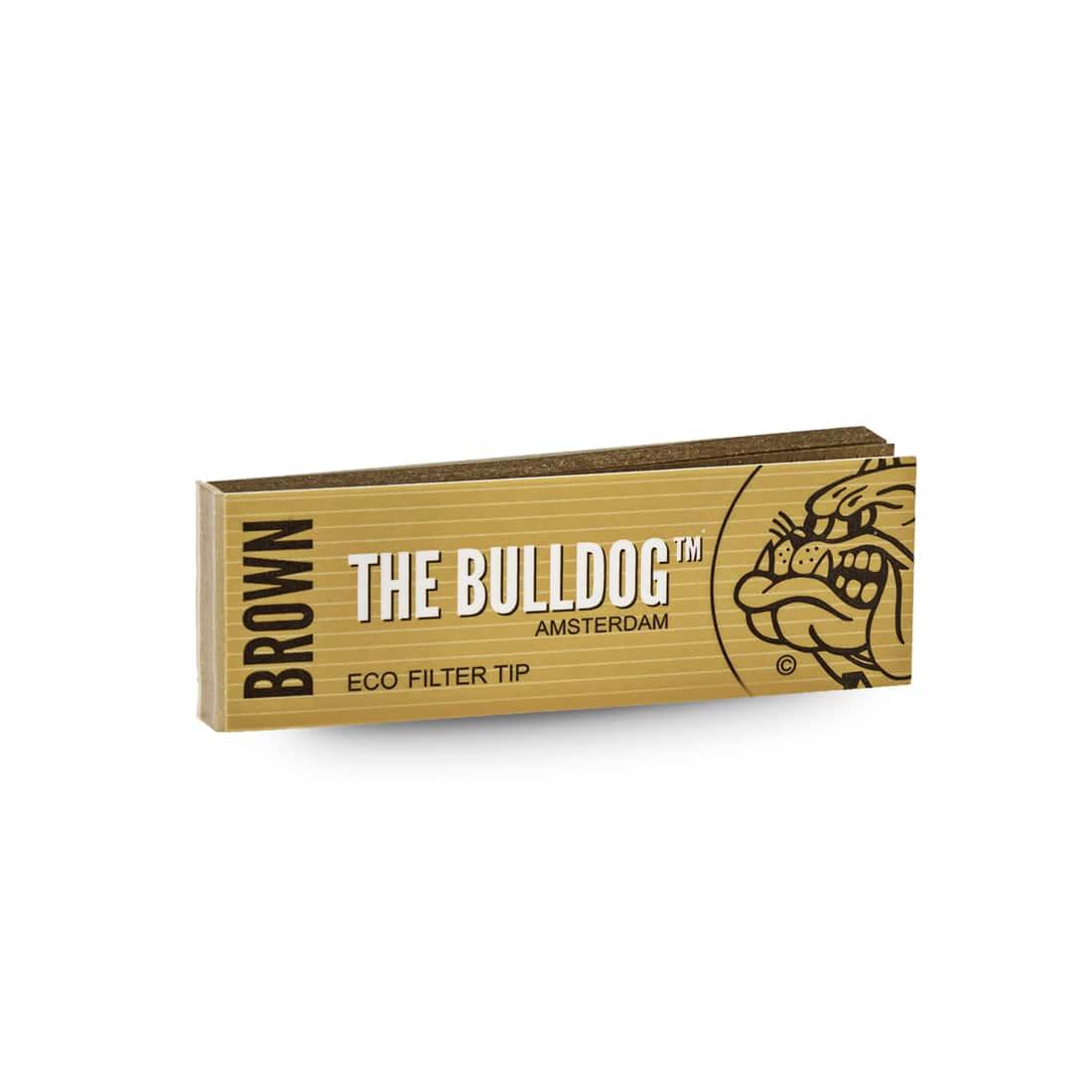 Photo #2 de Filtres carton The Bulldog Brown x 50