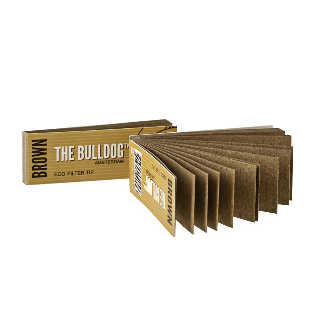 Photo #1 de Filtres carton The Bulldog Brown x 50