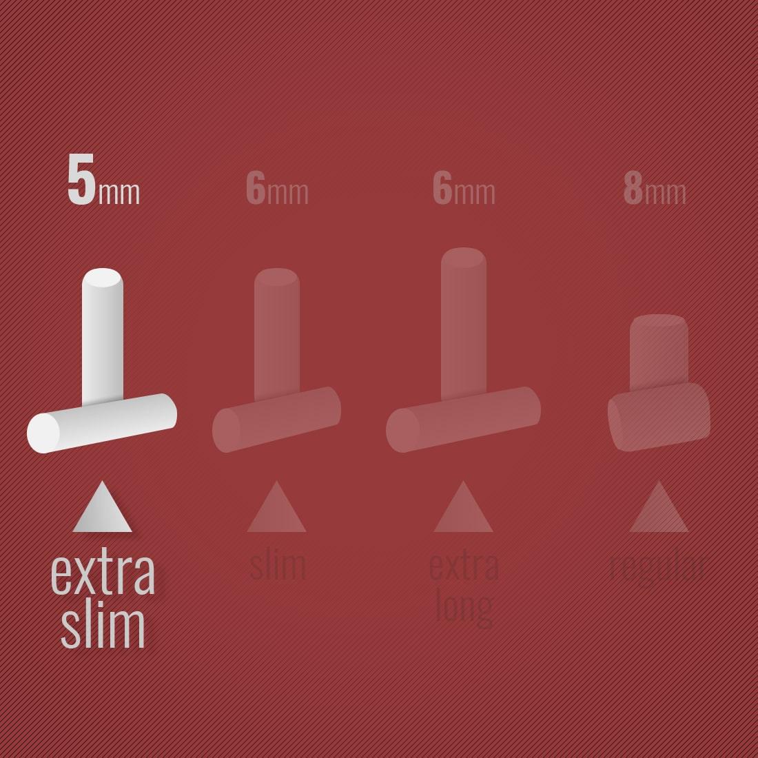Photo #1 de Filtres Elements Super Slim en sticks x 1