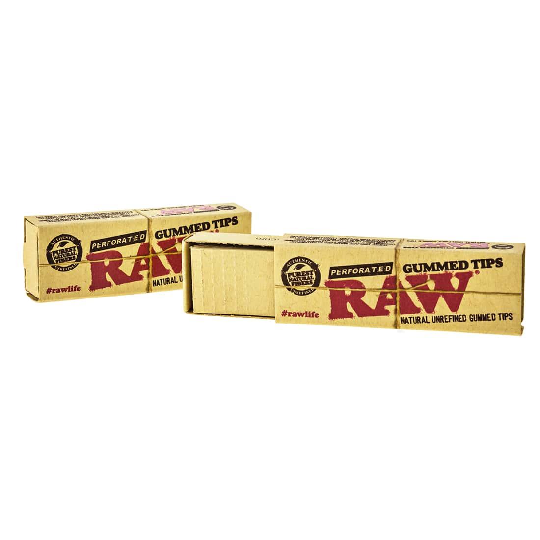 Photo #1 de Filtres en Carton Raw Gummed Perforés x 10